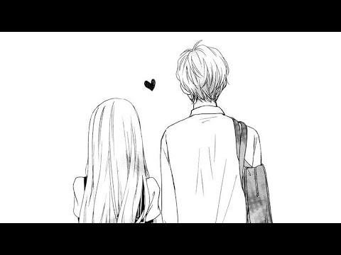 How To Draw Girl And Boy Couple Walk Sketch Step By Step || Romantic Couple By Art Sketches