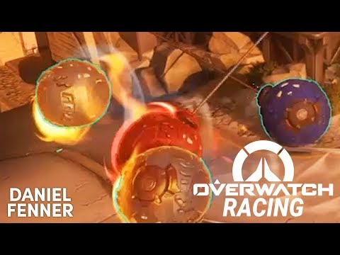 Overwatch RACING! Made in the workshop!