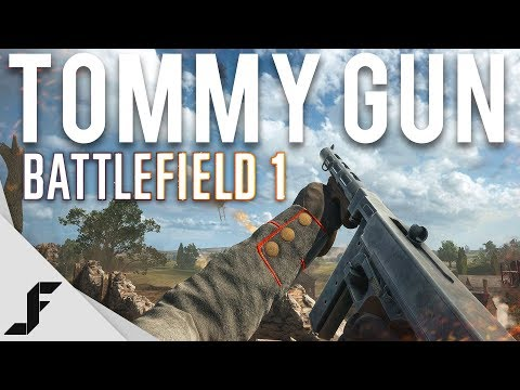 Using a Tommy Gun in Battlefield 1 ( New Favourite )