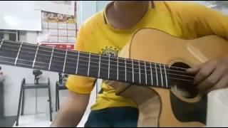 Lạc trôi guitar solo [Mitxi Tòng]