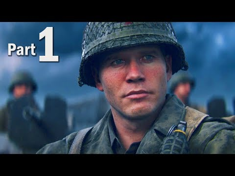 Call of Duty WW2 Walkthrough Gameplay Part #1 - Campaign Mis