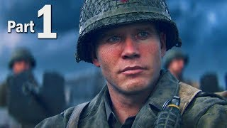 Call of Duty WW2 Walkthrough Gameplay Part #1 - Campaign Mission 1 + 2! (COD 2017)