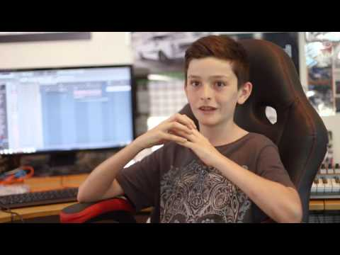 This 11-Year-Old Kid Is Already An EDM Producer In Australia