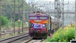 87th Birthday Run of Deccan Queen : Decorated KYN WCAM3 with Legendary Deccan Queen : Long Live