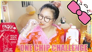 WORLDS HOTTEST ONE CHIP CHALLENGE  CAROLINA REAPER