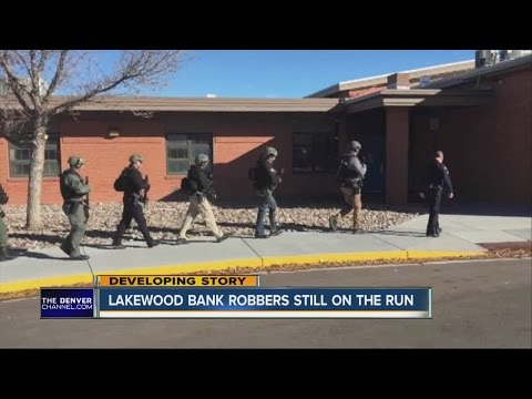 Lakewood Bank Robbers Still On The Run