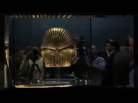 Egypt's king of the gold mask back to the display after restoration