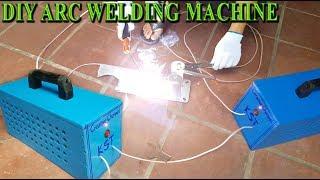 DIY a Arc Welding Machine at home