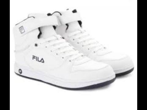 fila roberto mid ankle sneakers