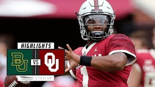 Baylor vs. No. 6 Oklahoma Football Highlights (2018)   Stadium