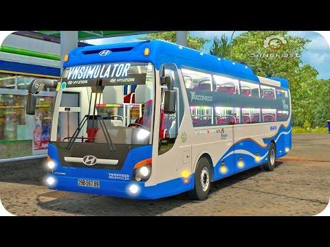 Hyundai Universe Bus ETS2 (Euro Truck Simulator 2)