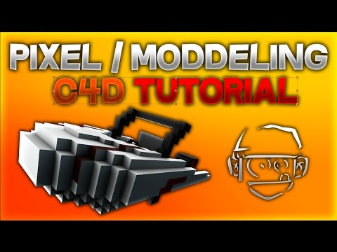 C4D Pixel/Modeling Tutorial |aslac
