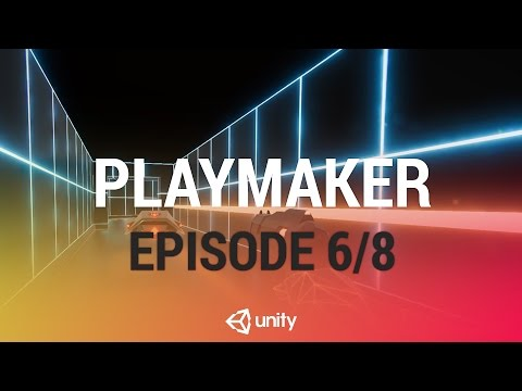 Adding Gameplay Interactions w/ PlayMaker - Enemy Turret Scanning and Shooting [6/8] Live 2017/4/26