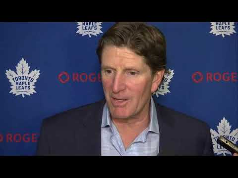 Maple Leafs Morning Skate: Mike Babcock - October 17, 2017
