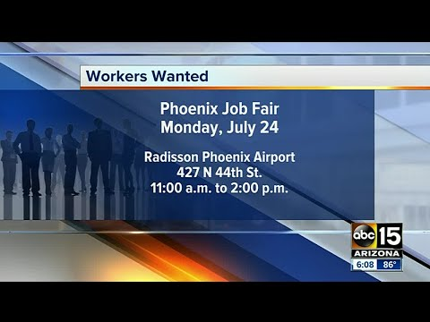 Hundreds Of Jobs Up For Grabs At Phoenix Career Fair