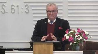 """Pekka Sartola """"Jerusalemin kolmas temppeli"""" Lohjan Helluntaiseurakunta 20.01.2019 klo 11.00"""