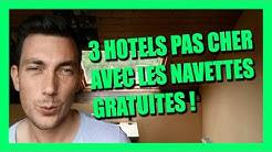 3 hôtels pas cher + navette gratuite vers le parc