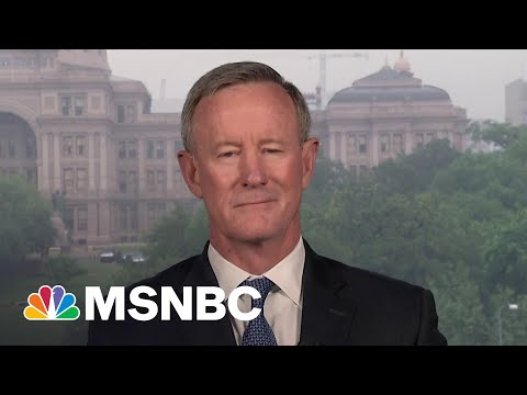 Retired Adm. McRaven Explains Decision Process For Afghanistan Withdrawal | MSNBC