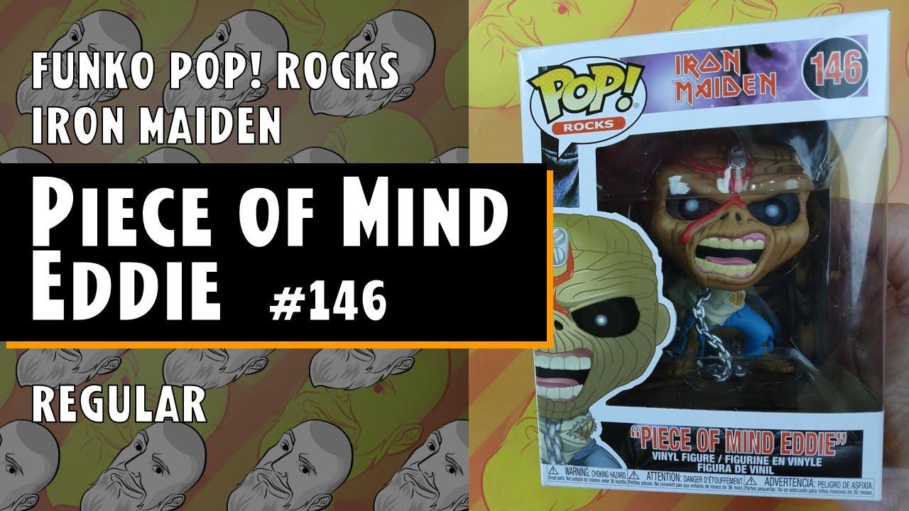 Rocks Iron Maiden PIECE OF MIND EDDIE 146 Funko POP
