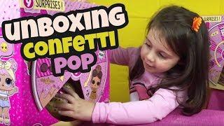 Apriamo una LOL SURPRISE confetti POP serie 3