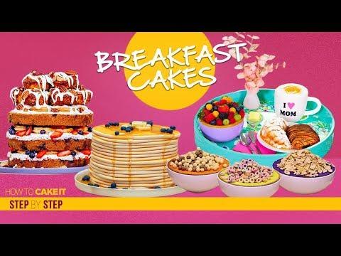 Amazing Breakfast Cakes Compilation | Top Breakfast Food as CAKE | How To Cake It | Yolanda Gampp