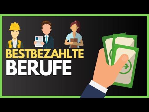 TOP 10 BESTBEZAHLTE JOBS - Das Sind Die Bestbezahlten Berufe Mit Ausbildung & Studium