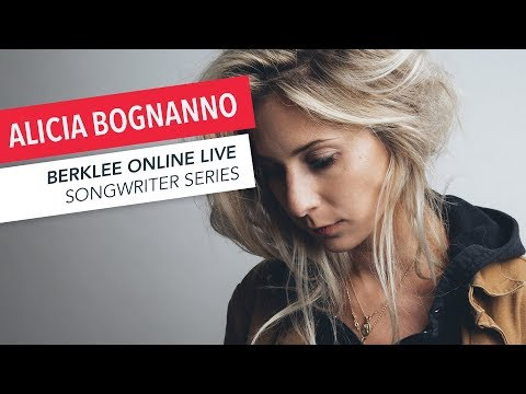 Alicia Bognanno of Bully: Berklee Online LIVE   Songwriting   Q&A   2017