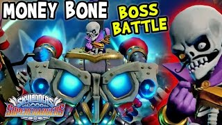 Skylanders SuperChargers WARDEN / COUNT MONEY BONE Boss Battle! (Land of the Undead)