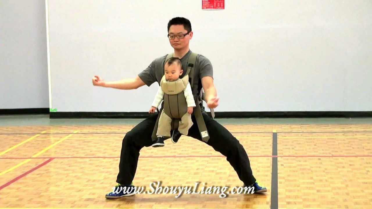 Chen Style Taiji 56 with 9 months old baby!