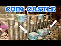 COIN CASTLE Inside The High Limit Coin Pusher Jackpot ASMR