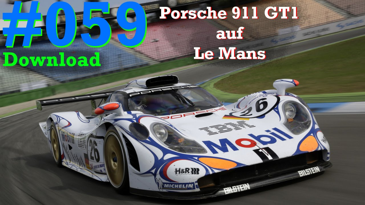 let 39 s play assetto corsa 059 porsche 911 gt1 le mans download hd youtube. Black Bedroom Furniture Sets. Home Design Ideas