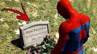 OLHA O QUE ACONTECE QUANDO VOCÊ ACHA O TUMULO DO TIO BEN NO SPIDER-MAN PS4!