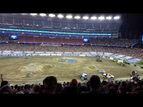 Son uva digger freestyle Gillette Stadium 2017