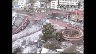Repeat youtube video he Massive Earthquake - Mother Wave - Tsunami Japan| Shocking on Camera 衝撃!東日本大震災