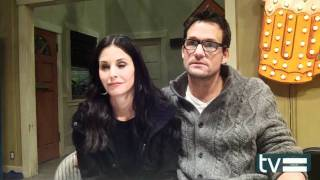 Cougar Town Season 3 Set Visit: Courteney Cox and Josh Hopkins Interview