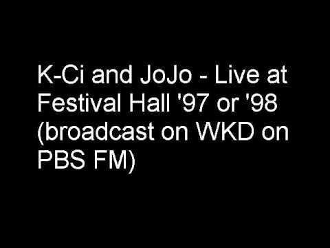 WKD Chat and K-Ci and JoJo - If you think you're lonely now - Live
