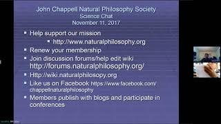 CNPS Saturday Science Chat Nov 11, 2017