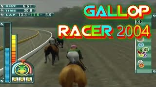 Gallop Racer 2004 Playstation 2 Gameplay Walkthrough Horse Racing Games For PS2 Commentary Day 58