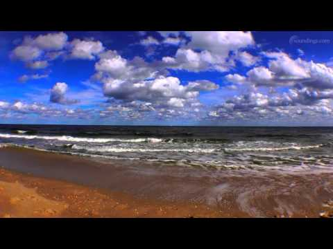 Beautiful Beach Relaxation Video - Florida Beach with Relaxing Music