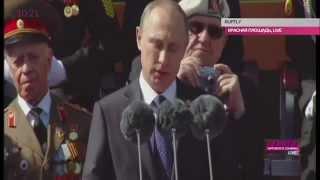Парад Победы в Москве 2015. Речь Путина