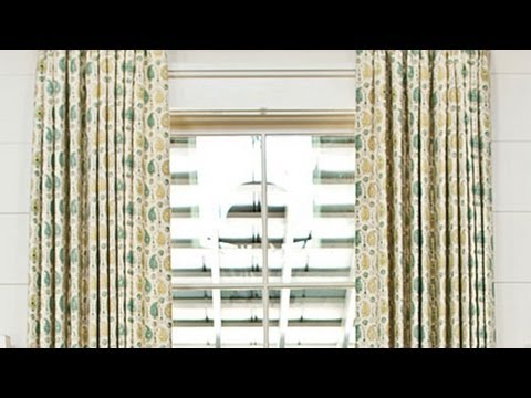 How To Measure Fabric for Curtains | Southern Living