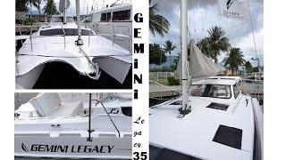 Gemini Legacy Catamaran at the Grand Pavois de La Rochelle