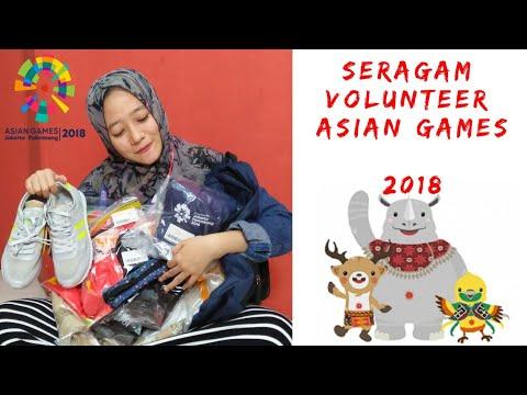 Unboxing Uniform Volunteer #AsianGames2018