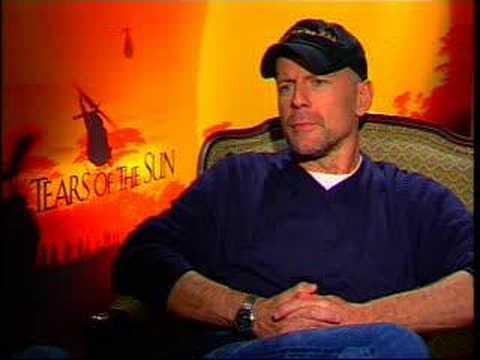 Martin Sargent interviews Bruce Willis