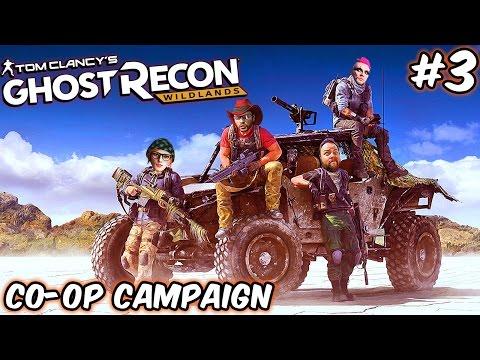 BUTT SQUAD ASSEMBLE!! | Multiplayer Coop | GHOST RECON: WILDLANDS | Wildlands PC Gameplay (Part 3)
