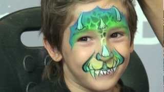 'DragonTales' Face Painting Design Thumbnail