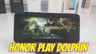 Playing Resident Evil 4 on Huawei smartphone Honor Play Dolphin Emulator Kirin 970/Mali G72