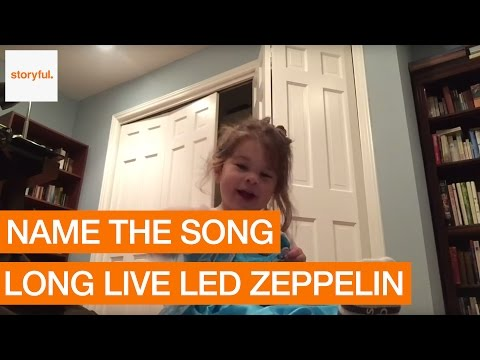 Young Led Zeppelin Fan Can Name Every Hit (Storyful, Kids)