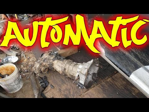 Manual to Automatic Transmission Swap
