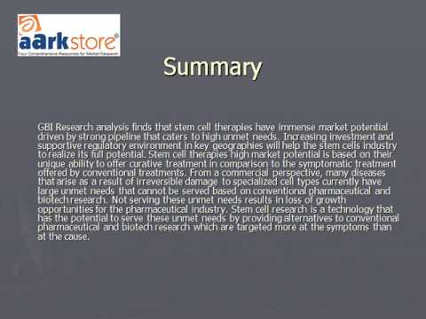 Stem Cell Research Market to 2017